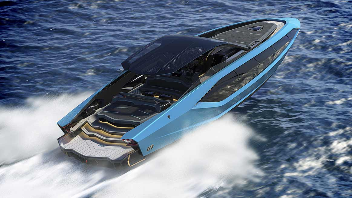 Automobili Lamborghini and The Italian Sea Group unveil 'Tecnomar ...