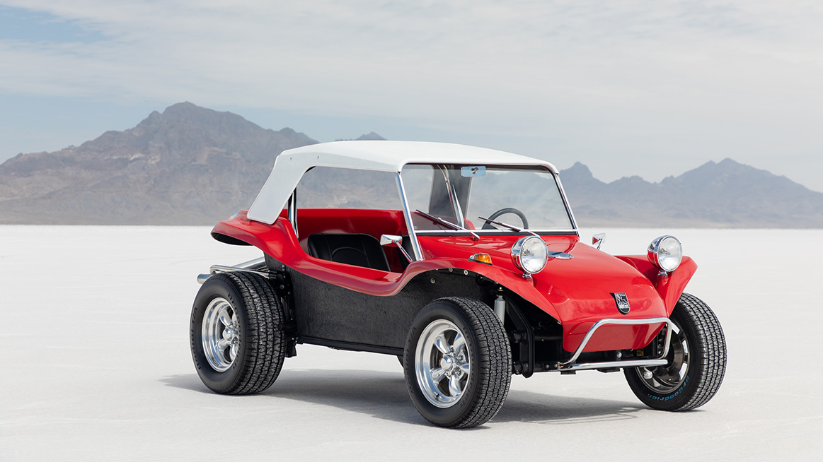 The Volkswagen ID  Buggy is celebrating its premiere at the
