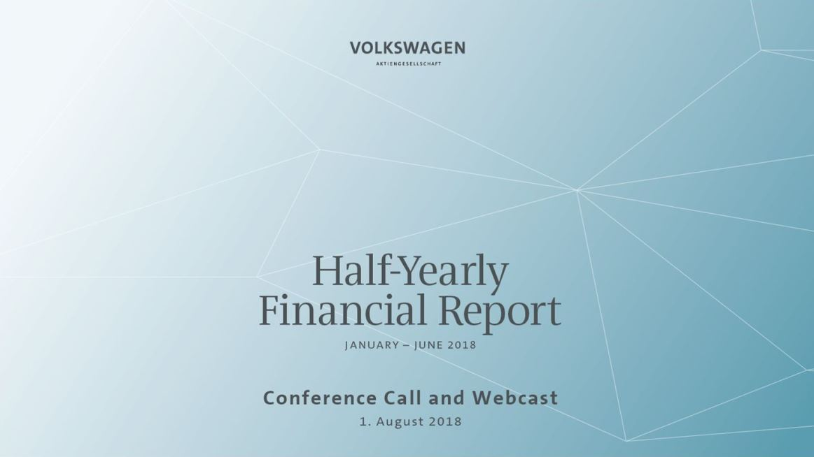 half yearly financial report 2018 10 00 am 2 00 pm cest