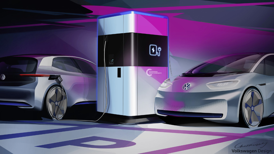 Volkswagen Group Components to start series production of flexible fast charging station