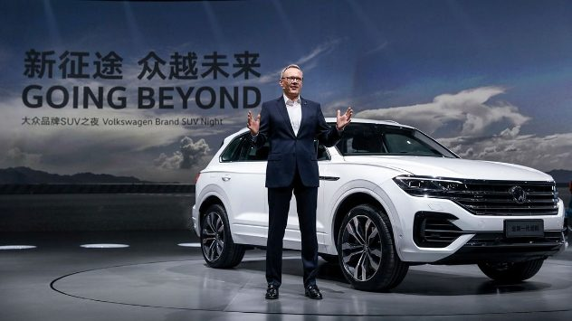 Volkswagen Group Latest Models >> Volkswagen Launches Model Offensive In China